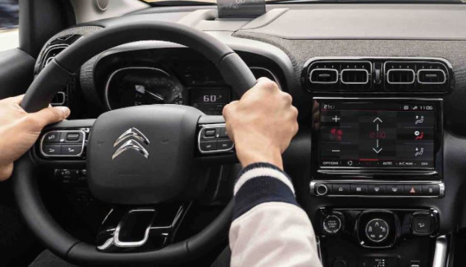 C3 Aircross SUV Steering