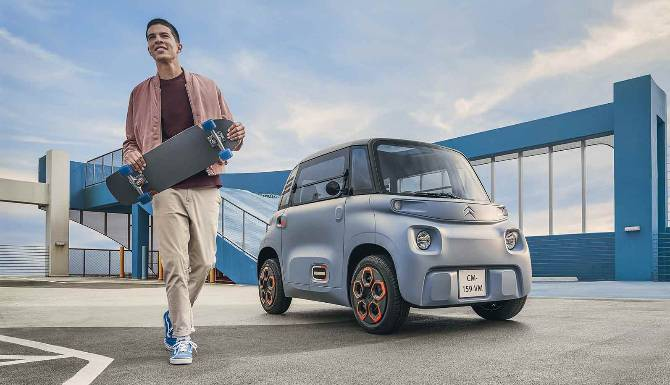 AMI, 100% ELECTRIC MOBILITY ACCESSIBLE TO ALL