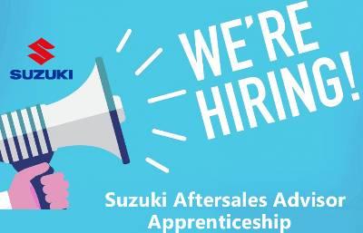 Suzuki Aftersales Advisor Apprenticeship at Ludlow Motors